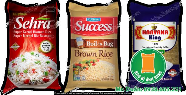 giá bao bì gạo